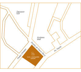 Thor Urbana - Mapa The Landmark Residences