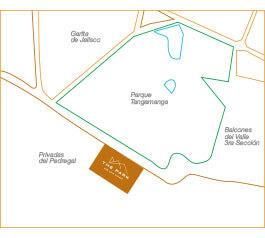 Thor Urbana - Mapa The Park San Luis Potosí