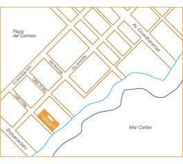Thor Urbana - Mapa Thompson Beach House