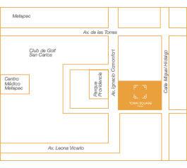 Thor Urbana - Mapa Town Square, Metepec