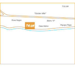 Thor Urbana - Mapa Tulum