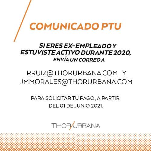 Thor Urbana - Reparto de Utilidades 2020
